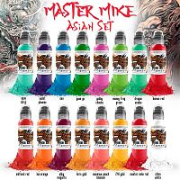 Краска для тату WF Master Mike Asian Tattoo Set