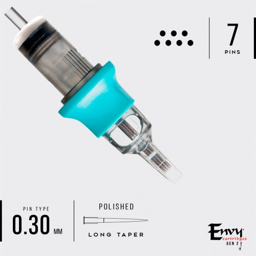 Картриджи Envy Gen2 Cartridges. Magnum 0,3 mm (10 шт)